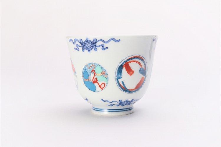 瀬兵窯 鍋島丸紋 茶器セット 画像サブ4