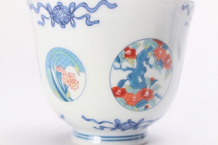 瀬兵窯 鍋島丸紋 茶器セット 画像サブ7