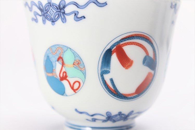 瀬兵窯 鍋島丸紋 茶器セット 画像サブ8