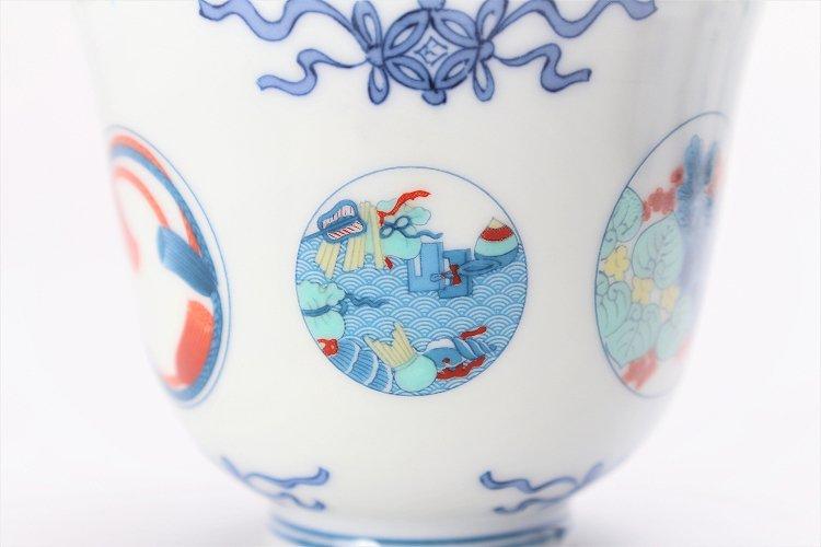 瀬兵窯 鍋島丸紋 茶器セット 画像サブ9
