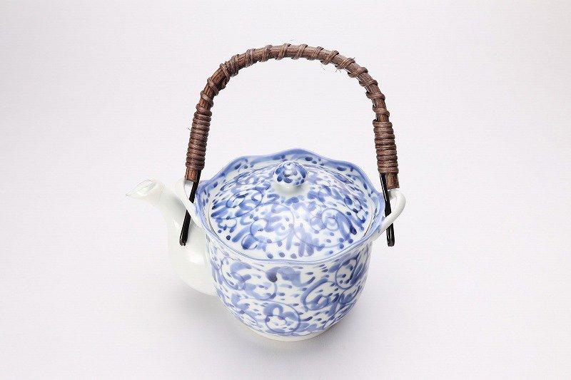 淡彩唐草 茶器セット 画像サブ1