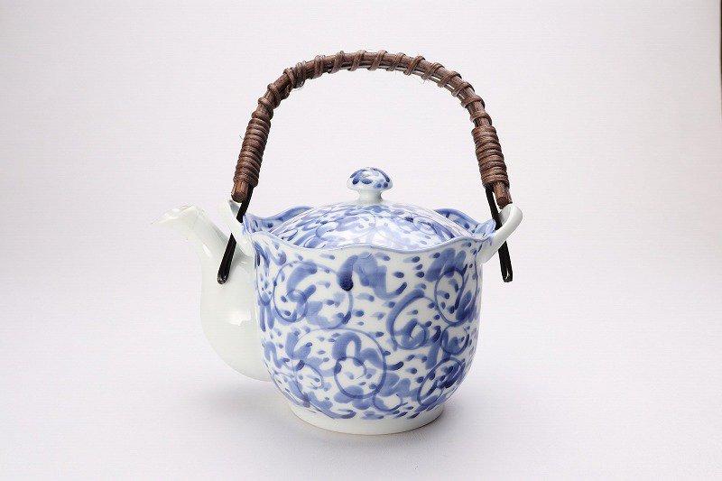 淡彩唐草 茶器セット 画像サブ2