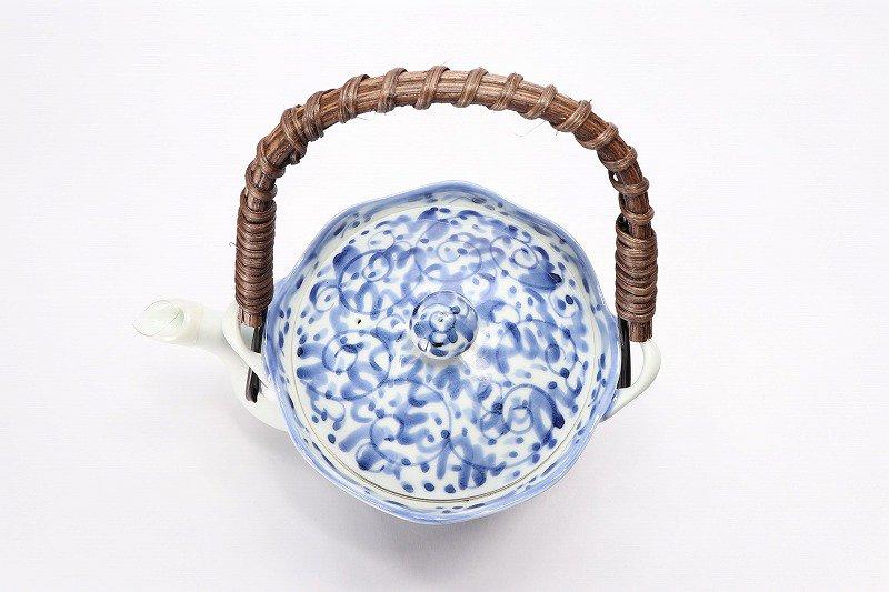 淡彩唐草 茶器セット 画像サブ3