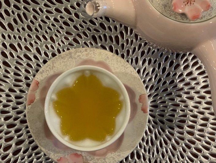 田清窯 薄ピンク釉虹彩桜 茶器セット 画像サブ23