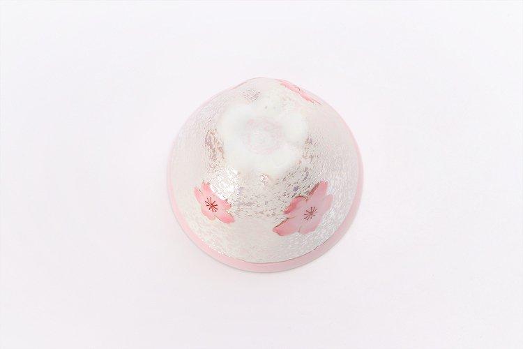 田清窯 薄ピンク釉虹彩桜 茶器セット 画像サブ8