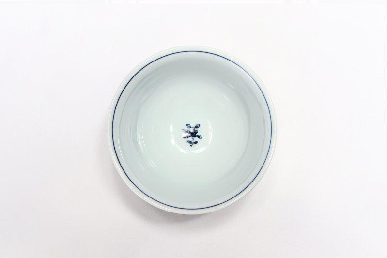 亮秀窯 丸紋唐草 組飯碗 画像サブ7