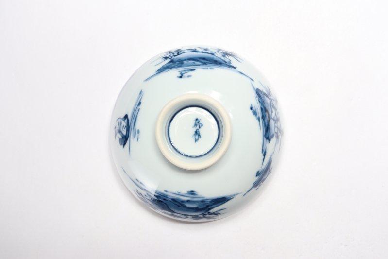 亮秀窯古代山水 組飯碗 画像サブ10