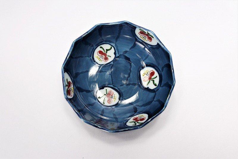 亮秀窯 梅花 12角皿 画像サブ2