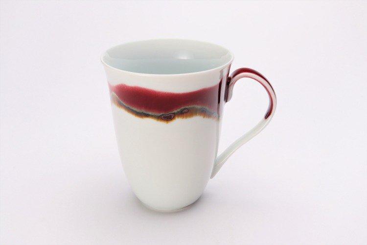 ☆真右ェ門窯 シルクロード マグカップ(木箱付) 画像サブ1