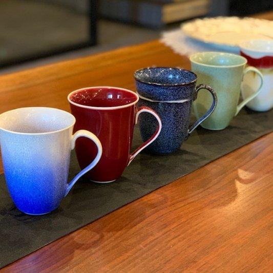 ☆真右ェ門窯 シルクロード マグカップ(木箱付) 画像サブ10