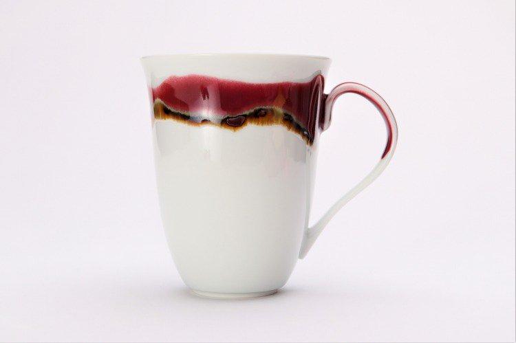 ☆真右ェ門窯 シルクロード マグカップ(木箱付) 画像サブ2