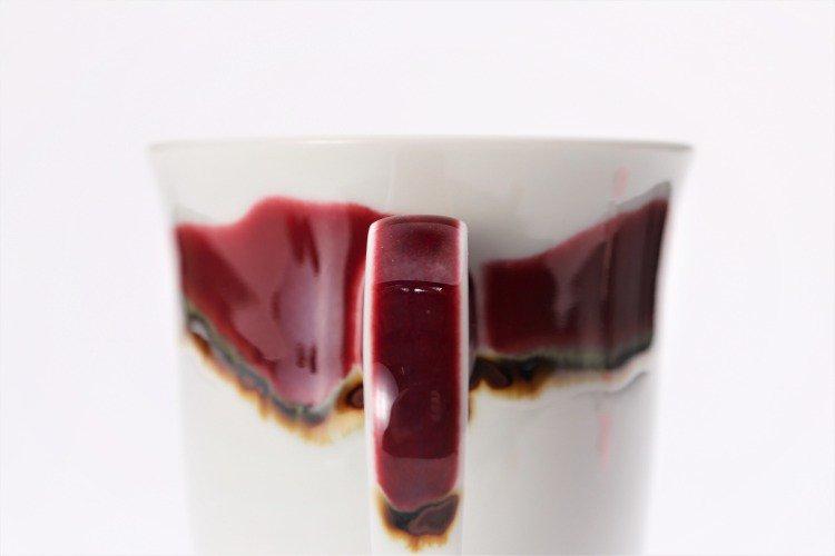 ☆真右ェ門窯 シルクロード マグカップ(木箱付) 画像サブ4
