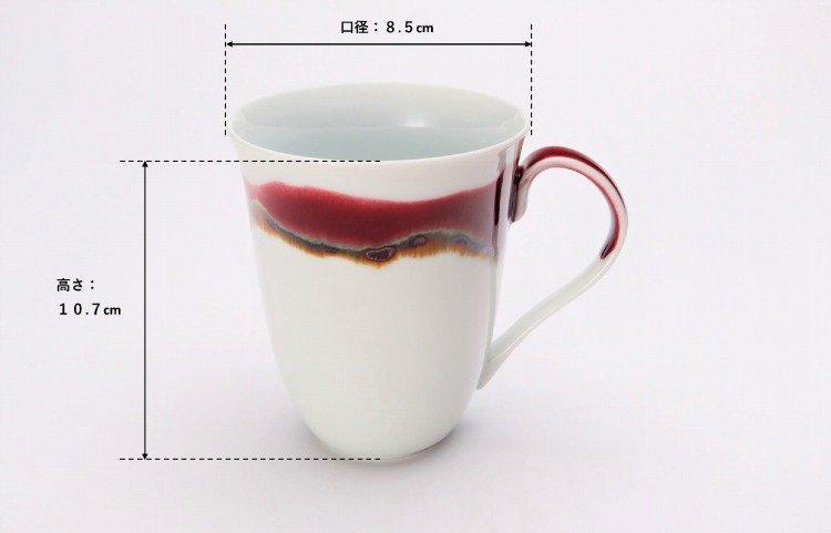 ☆真右ェ門窯 シルクロード マグカップ(木箱付) 画像サブ7