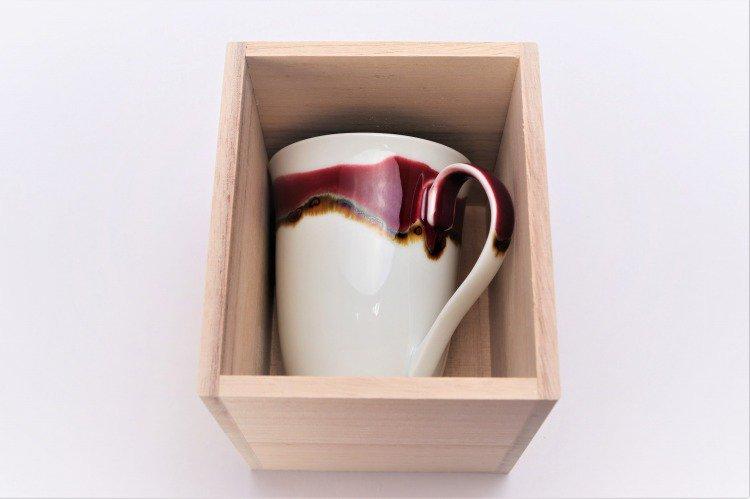 ☆真右ェ門窯 シルクロード マグカップ(木箱付) 画像サブ8