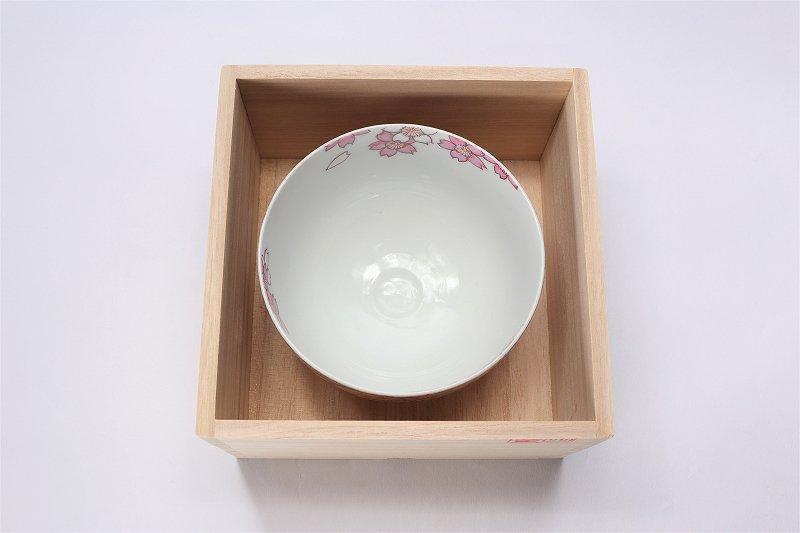 金龍窯 金彩桜 抹茶碗(木箱付) 画像サブ5