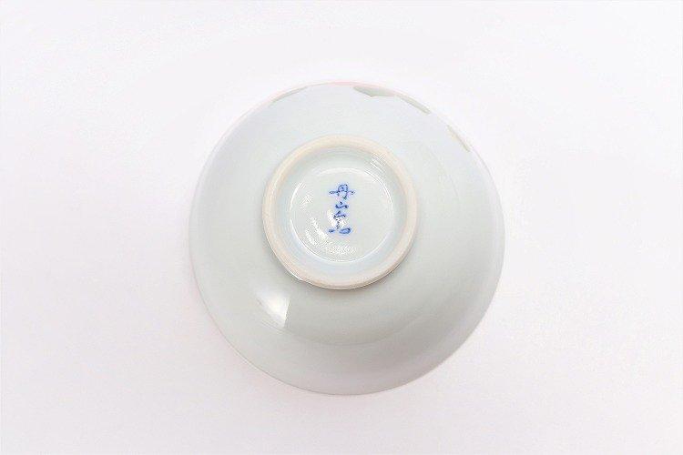 誕生花シリーズ 赤椿 茶碗・湯呑セット (1月誕生花)(化粧箱入り) 画像サブ5