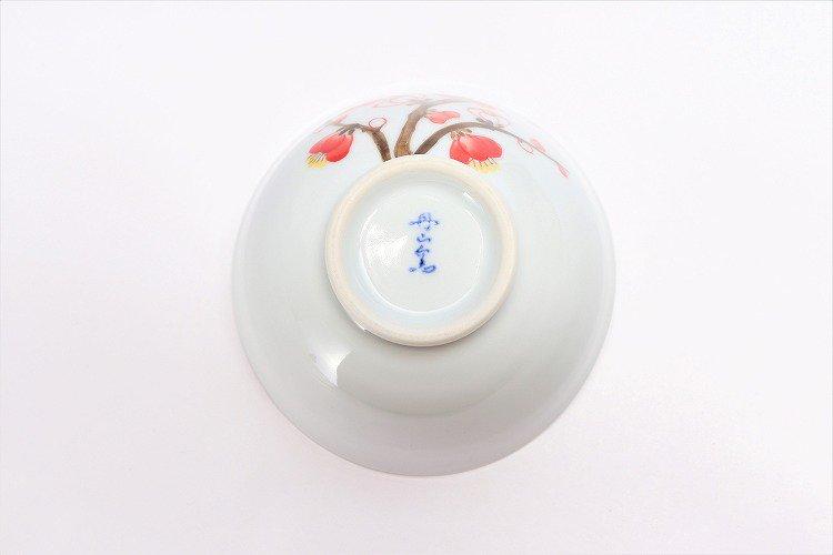 誕生花シリーズ 紅白梅 茶碗・湯呑セット (2月誕生花)(化粧箱入り) 画像サブ5