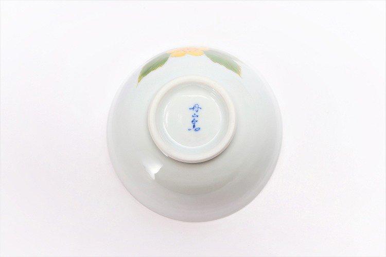 誕生花シリーズ 山吹 茶碗・湯呑セット (3月誕生花)(化粧箱入り) 画像サブ5