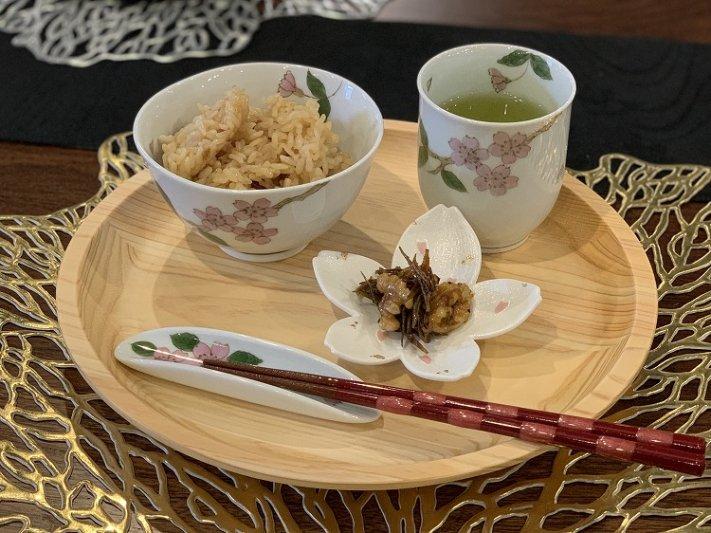 〇誕生花シリーズ 桜 茶碗・湯呑セット (4月誕生花)(化粧箱入り) 画像サブ14