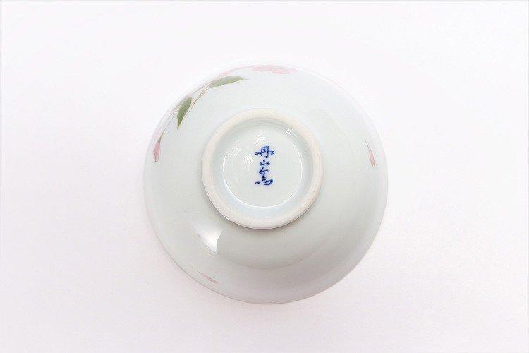 〇誕生花シリーズ 桜 茶碗・湯呑セット (4月誕生花)(化粧箱入り) 画像サブ5