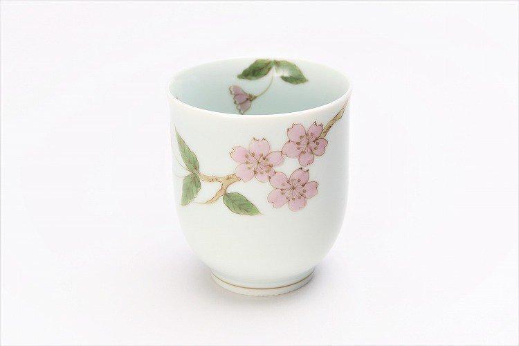 〇誕生花シリーズ 桜 茶碗・湯呑セット (4月誕生花)(化粧箱入り) 画像サブ7