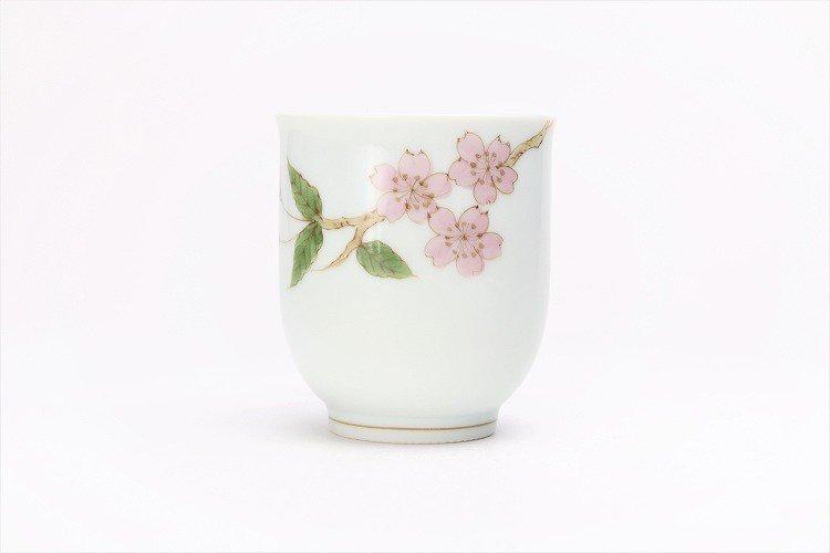 〇誕生花シリーズ 桜 茶碗・湯呑セット (4月誕生花)(化粧箱入り) 画像サブ8