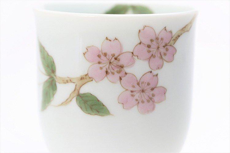 〇誕生花シリーズ 桜 茶碗・湯呑セット (4月誕生花)(化粧箱入り) 画像サブ9
