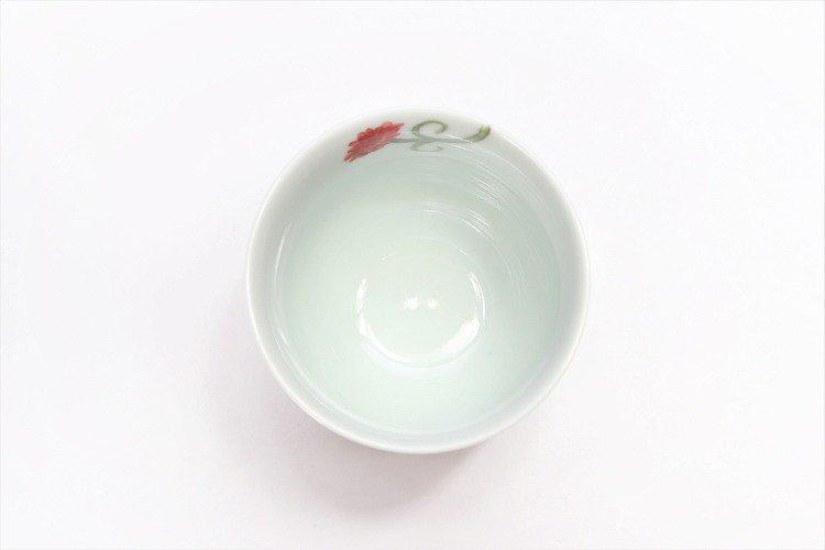 誕生花シリーズ カーネーション 茶碗・湯呑セット (5月誕生花)(化粧箱入り) 画像サブ10