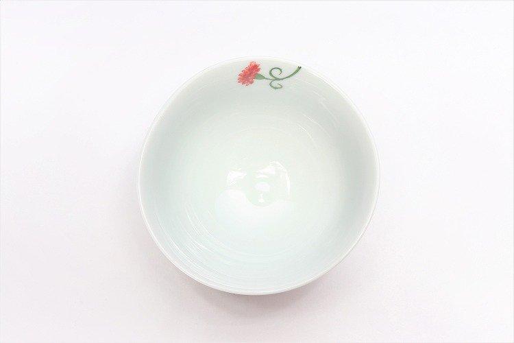 誕生花シリーズ カーネーション 茶碗・湯呑セット (5月誕生花)(化粧箱入り) 画像サブ4