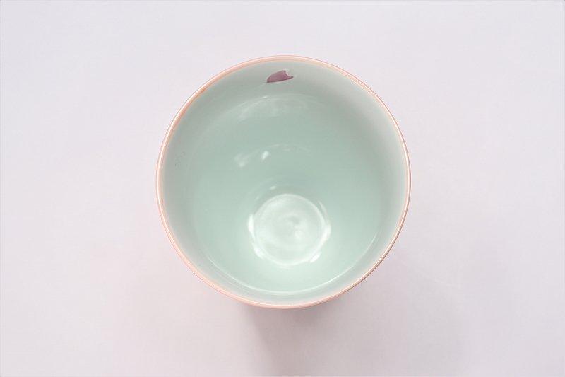 楽々シリーズ 春秋(緑・ピンク) ペアフリーカップ (化粧箱入り) 画像サブ6