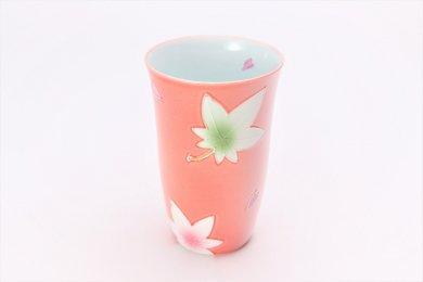 ☆楽々シリーズ ピンク春秋 フリーカップ (化粧箱入り)