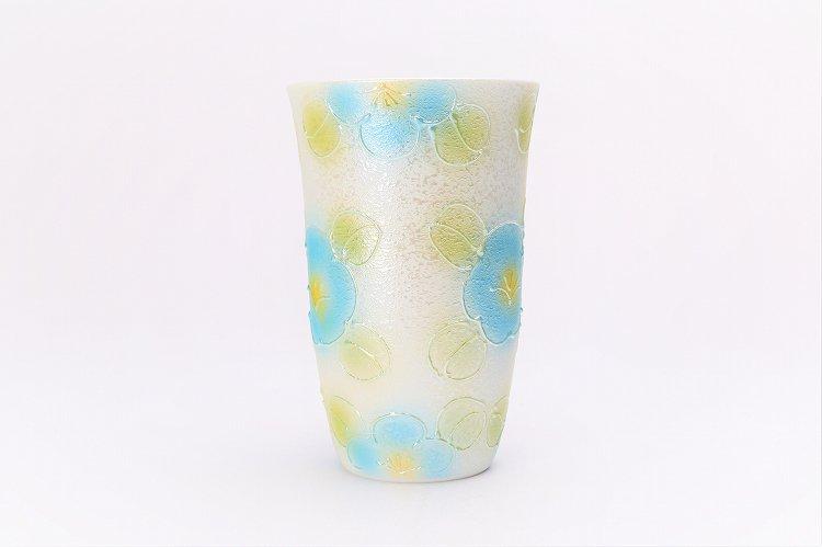 楽々シリーズ ラスター山茶花 ペアフリーカップ (化粧箱入り) 画像サブ3