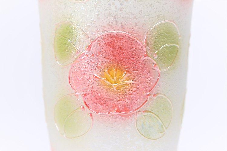 楽々シリーズ ラスター山茶花(赤) フリーカップ (化粧箱入り) 画像サブ4