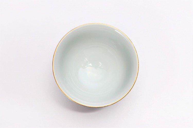 楽々シリーズ 金・プラチナ牡丹 ペア茶碗 (化粧箱入り) 画像サブ4