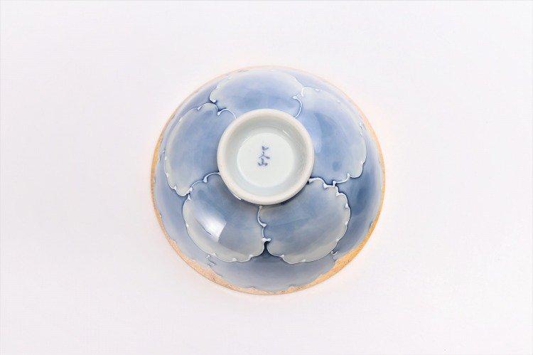 楽々シリーズ 金・プラチナ牡丹 ペア茶碗 (化粧箱入り) 画像サブ5