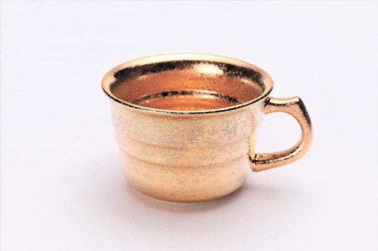 GOLDシリーズ 千段コーヒー碗C/S (化粧箱入り) 画像サブ1