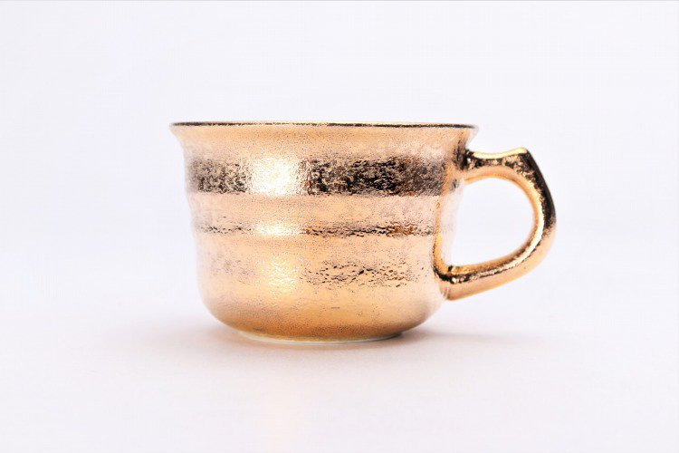 GOLDシリーズ 千段コーヒー碗C/S (化粧箱入り) 画像サブ2