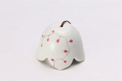 楽々シリーズ ワイヤープランツ(ピンク) 桔梗渕風鈴