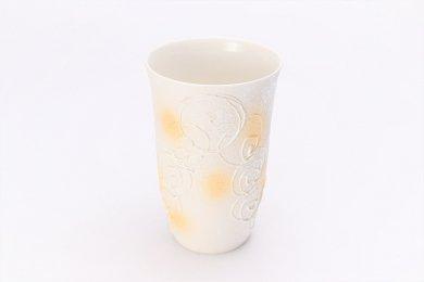 ☆楽々シリーズ 渦真珠雲母金 フリーカップ (化粧箱入り)
