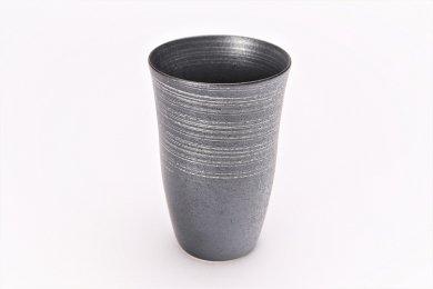 楽々シリーズ 晶銀かすり フリーカップ (化粧箱入り)