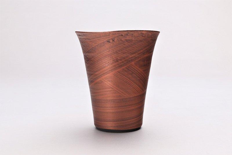 筒山太一窯 銅器彩 反フリーカップ 在庫9個 画像サブ1