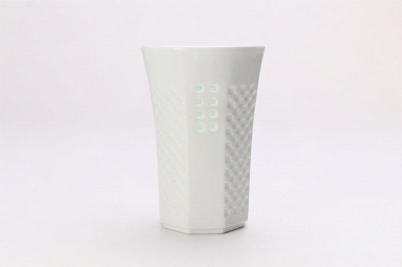 丹心窯 水晶スクエア・カラースクエア フリーカップ 在庫2組 画像サブ1