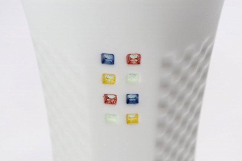 丹心窯 水晶スクエア・カラースクエア フリーカップ 在庫2組 画像サブ4