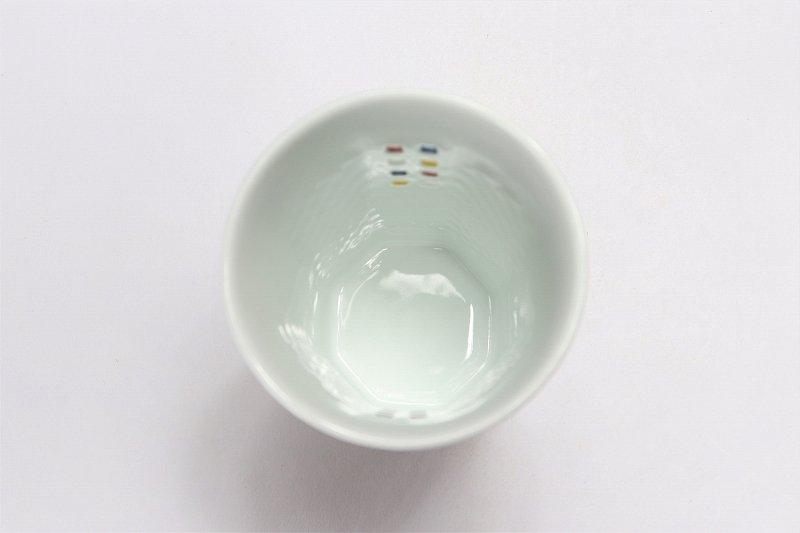 丹心窯 水晶スクエア・カラースクエア フリーカップ 在庫2組 画像サブ6