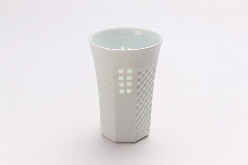 丹心窯 水晶スクエア フリーカップ 在庫9個 画像メイン