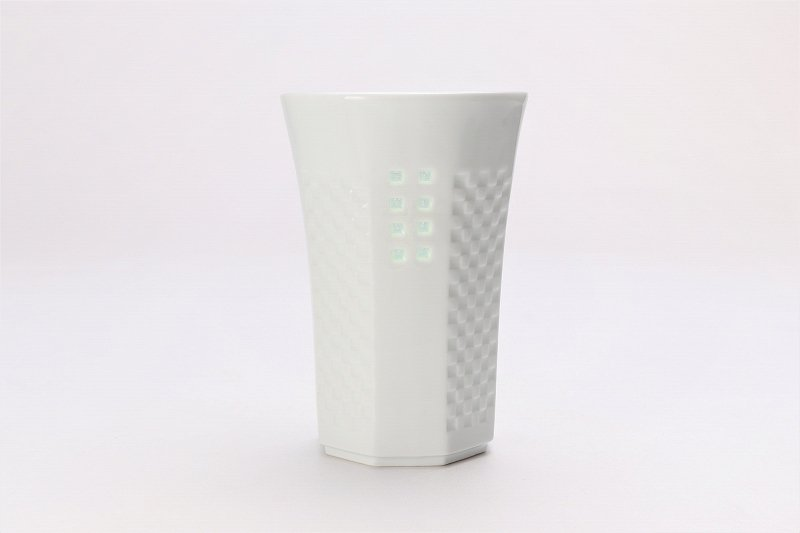 丹心窯 水晶スクエア フリーカップ 在庫9個 画像サブ1