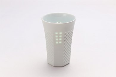 丹心窯 水晶スクエア フリーカップ