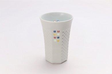 丹心窯 水晶カラースクエア フリーカップ