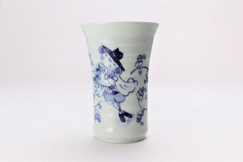 しん窯 マント異人 フリーカップ 在庫8個 画像サブ1