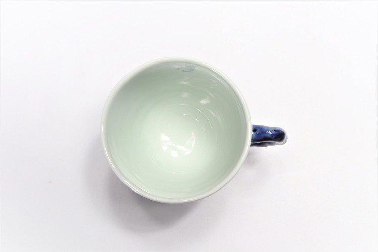 ☆そうた窯 染付市松桜 マグカップ 画像サブ6